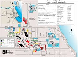 San Francisco State University Map by Northern Michigan University Campus Map Michigan Map