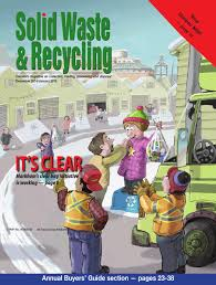 solid waste u0026 recycling dec14 jan15 by annex newcom lp issuu