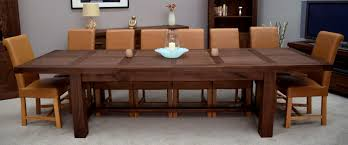Large Extending Dining Table Extendable Dining Table Seats 12 Best Gallery Of Tables