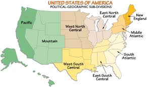 map us south united states political geographic divisions map