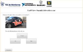 driverless remote controlled suzuki swift car student design