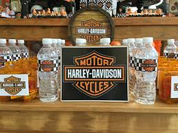harley davidson party decorating ideas printed out the harley