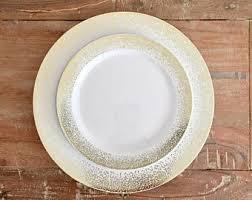 silver wedding plates wedding plate etsy