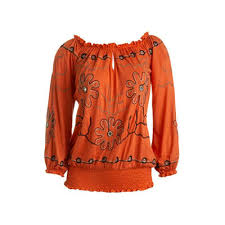 embroidered tops view specifications details of