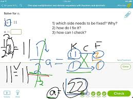 showme solving 1 step equations multiplication division with