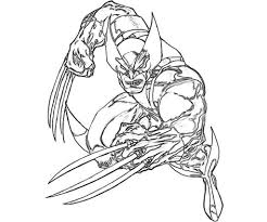 wolverine coloring pages fablesfromthefriends com