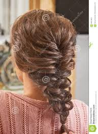 hairstyles back view only back view of braided hairdo stock image image of guide design