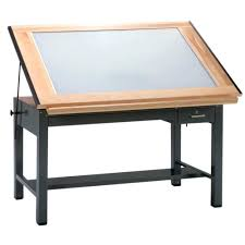 Drafting Table With Parallel Bar Metal Drafting Table Home Design Ideas And Pictures