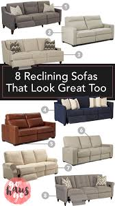 Reclining Sofas 8 Reclining Sofas That Look Great Go Haus Go A Diy And
