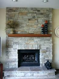 How To Reface A Fireplace by Fireplace Refacing Stone A Manufactured Stone Fireplace In By