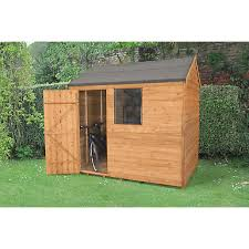 Shiplap Sheds 6 X 4 Timber Sheds Garden Sheds U0026 Buildings Gardens Wickes