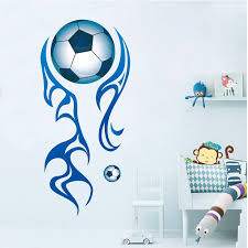 large football wall stickers football lounge wall decals