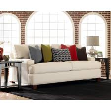 decorating audrina sofa by klaussner furniture with 3 seat for