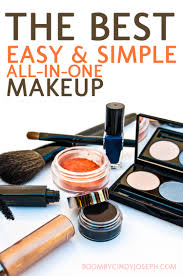 the best easy and simple all in one makeup visual ly