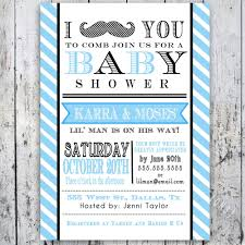 how to create mustache baby shower invitations free templates