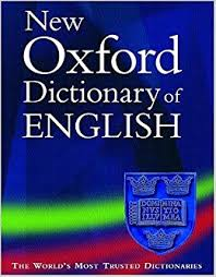 Oxford Dictionary The New Oxford Dictionary Of 9780198604419