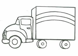 lorry colouring pages rescue vehicles coloring pages