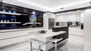 Kitchen Scullery Designs Sleek Contemporary Entertainers Kitchen With Separate Scullery