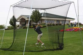 backyard golf net home outdoor decoration