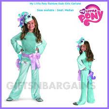 Pony Rainbow Dash Halloween Costume Hasbro Pony Rainbow Dash Cutie Mark Dlx Disfraz