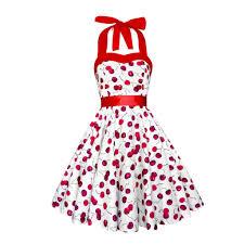 cherry dress corset dress cherries dress rockabilly dress pinup