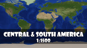 Garmin Maps Central America by North America 11500 Scale In Minecraft 12k Downloads Maps North