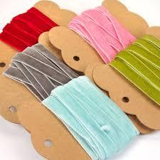 velvet ribbon velvet ribbon in 5 colours 3 metres pipii