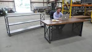 Industrial Office Desks Buy A Handmade The Industrial Carruca Office Desk Made To Order