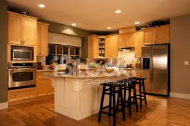 kitchen and home interiors modern kitchen house interior stock photos freeimages com