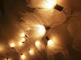 flower leaf string lights 9 foot ul