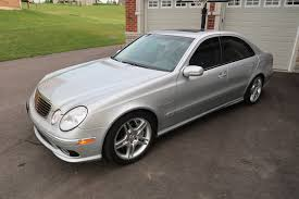2006 mercedes e55 amg for sale 2006 e55 amg for sale 43k silver mint toronto 24k us