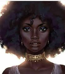 beautiful cartoon women art beautiful black art black art pinterest black black women art