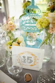 Vintage Centerpieces Yellow And Gray Vintage Wedding Ideas