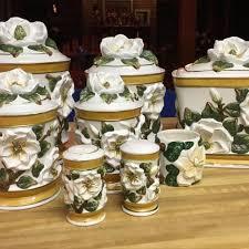 canister kitchen set best magnolia canister kitchen set for sale in jacksonville