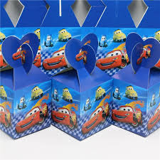 cars wrapping paper wholesale candy box cars theme party loading gift loot bag