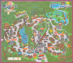 universal halloween horror nights map newsplusnotes from the vault worlds of fun 1995 park map