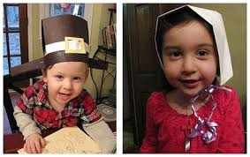 Pilgrim Hats Out Of Construction Paper - brown thanksgiving crafts and