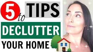 Decluttering Your Home by How To Declutter Your Home 5 Tips For Decluttering Your Home