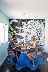 photo wallpaper in a breakfast nook lake house pinterest