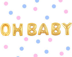 baby shower balloons 40 inch gold baby letter balloons baby shower balloons baby