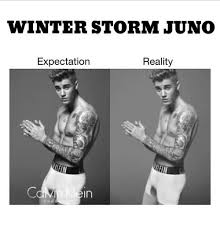 Winter Storm Meme - winter storm juno expectation reality in winter meme on me me