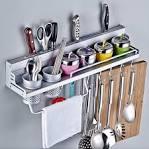 Image result for steel utensil hanging rack B00UUSC7YY