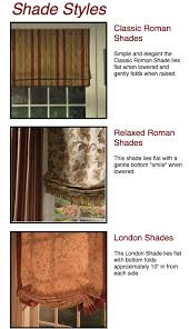 Roman Shades Styles - roman shades to fit your style jacoby company