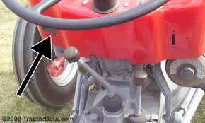 tractordata com massey ferguson 135 tractor information