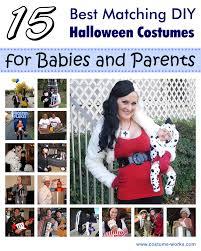 Infant Halloween Costume Ideas 15 Matching Diy Costumes Babies Parents Diy