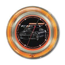 camaro clocks for the office home and garage wall clocks neon