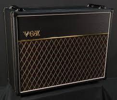 vox ac30 2x12 extension cabinet vox v212c custom 2x12 speaker cabinet black