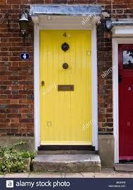 front doors compact yellow front door for home inspirations