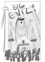 plankton rough sketch big evil by shermcohen on deviantart