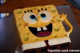 6 spongebob squarepants cake ideas